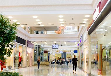 ipadレンタル ショッピングセンター様ご利用事例 イメージ図